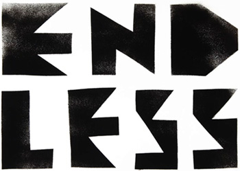ENDLESS logo, gold